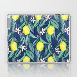 When Life Gives You Lemons - blue Laptop & iPad Skin
