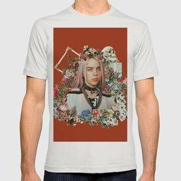 Billie Eilish Graphic Artwork T-shirt