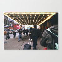 theatre Canvas Prints featuring Theatre by RaviusKiedn