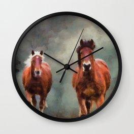Storm Ryders Wall Clock