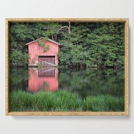 Mirror Lake House Serving Tray