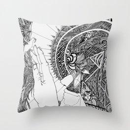 Geochrist Throw Pillow