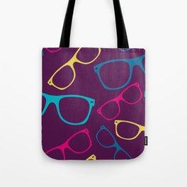 glasses Seamless pattern retro sunglasses Tote Bag
