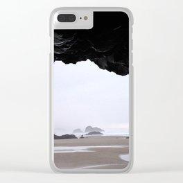 Goonies Never Die Clear iPhone Case