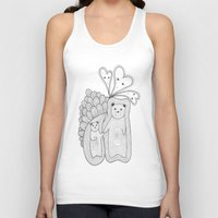 bears Tank Tops featuring bears by s t i n g s