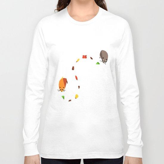 Hammy food trail Long Sleeve T-shirt