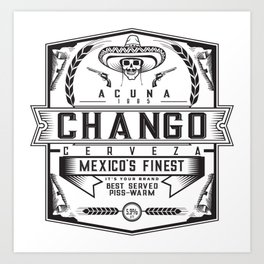 Chango Art Print