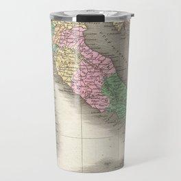 Vintage Map of Italy (1827) Travel Mug