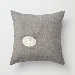 The Perfect Sand Dollar Throw Pillow