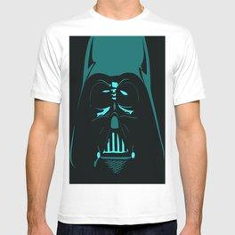 Tron Darth Vader Outline T-shirt