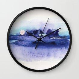 New moon Wall Clock