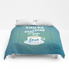 Perfect Cup of Tea Comforters