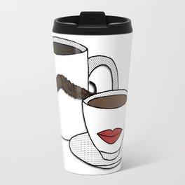 The Caffeinated Couple Travel Mug