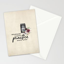 Practice Stationery Cards