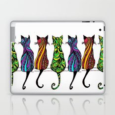 3 Kitties Laptop & iPad Skin