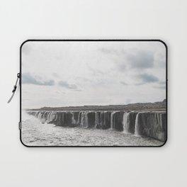 Selfoss waterfall in Iceland - nature landscape Laptop Sleeve