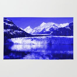 Glacier Bay Blue Rug