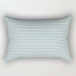 Minimal Line Curvature VII Rectangular Pillow