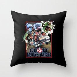 Ghostbuster Throw Pillow