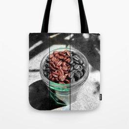 Coffee Beans in Manson Jar Tote Bag