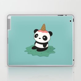 Kawaii Cute Panda Ice Cream Laptop & iPad Skin