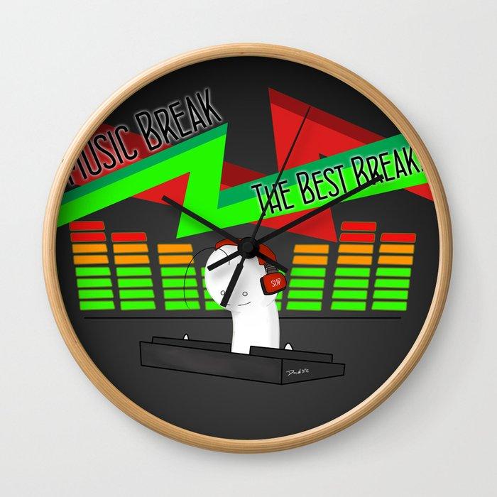 DJ! CRYAOTIC Wall Clock