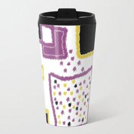 fuzzy rectangles Travel Mug