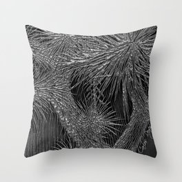 Joshua Tree Plata by CREYES Throw Pillow