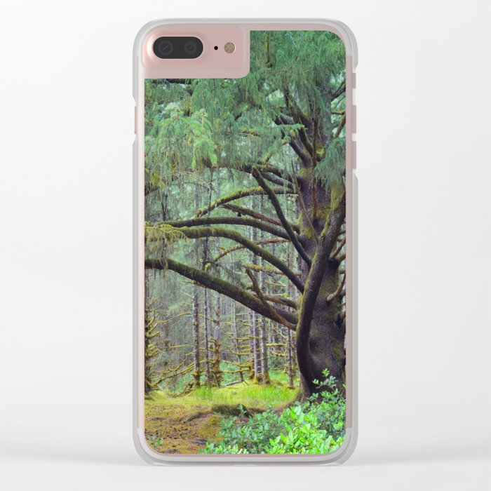 Can you Spot the Elf? Clear iPhone Case