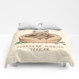 Yorkshire Pudding Terrier Comforters