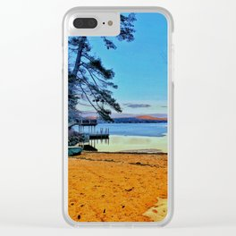 Lake Winnipesaukee Clear iPhone Case