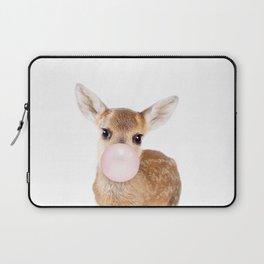Bubble Gum Baby Deer Laptop Sleeve