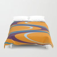 carnival Duvet Covers featuring Carnival by Ramon J Butler-Martinez
