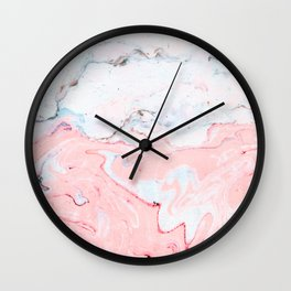 Marble Love #society6 #decor #buyart Wall Clock