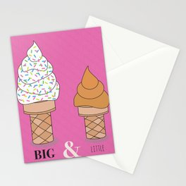 Big & Little Stationery Cards