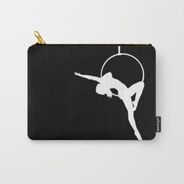 Lyra Aerialist Silhouette Carry-All Pouch