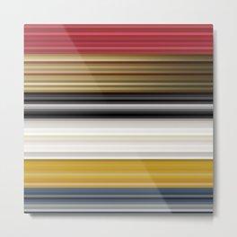 Abstract Shades Metal Print