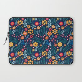 "Cute Floral pattern of small flowers. ""Ditsy print"". Laptop Sleeve"