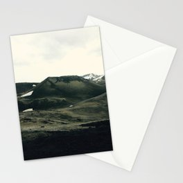 Car Ride Through Icelandic Beauty Stationery Cards