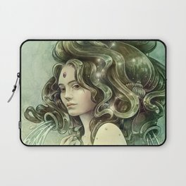 Zodiac Aquarius Laptop Sleeve