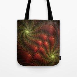 Fantasy Fractal, Coloful And Luminous Tote Bag