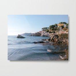 Mallorca | Spain | Europe | ocean travel photography Metal Print