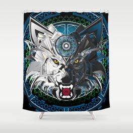 Timberwolves Shower Curtain