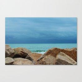 Coastal Blues Canvas Print