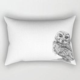 The Northern Saw-whet Owl Rectangular Pillow