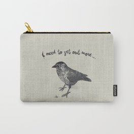 Depressed Jackdaw Carry-All Pouch