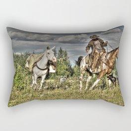 Cowboy Country Rectangular Pillow