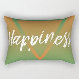 Happiness - Feelings series Rectangular Pillow