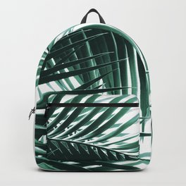 Palm Leaves Green Vibes #8 #tropical #decor #art #society6 Backpack