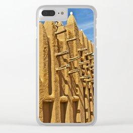 Adobe mosque - Mali Clear iPhone Case